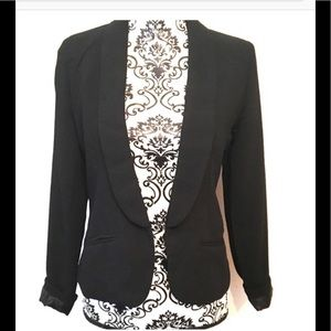 Say What? Women's black blazer